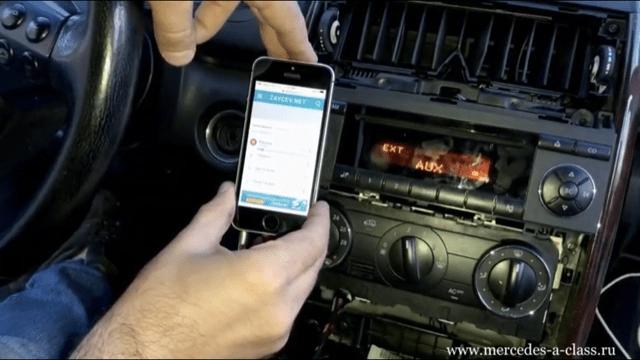 AUX MP3 Мерседес W169