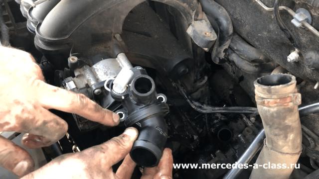 Термостат Mercedes W169