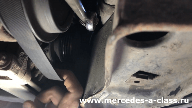 Меняю ремень Mercedes W169